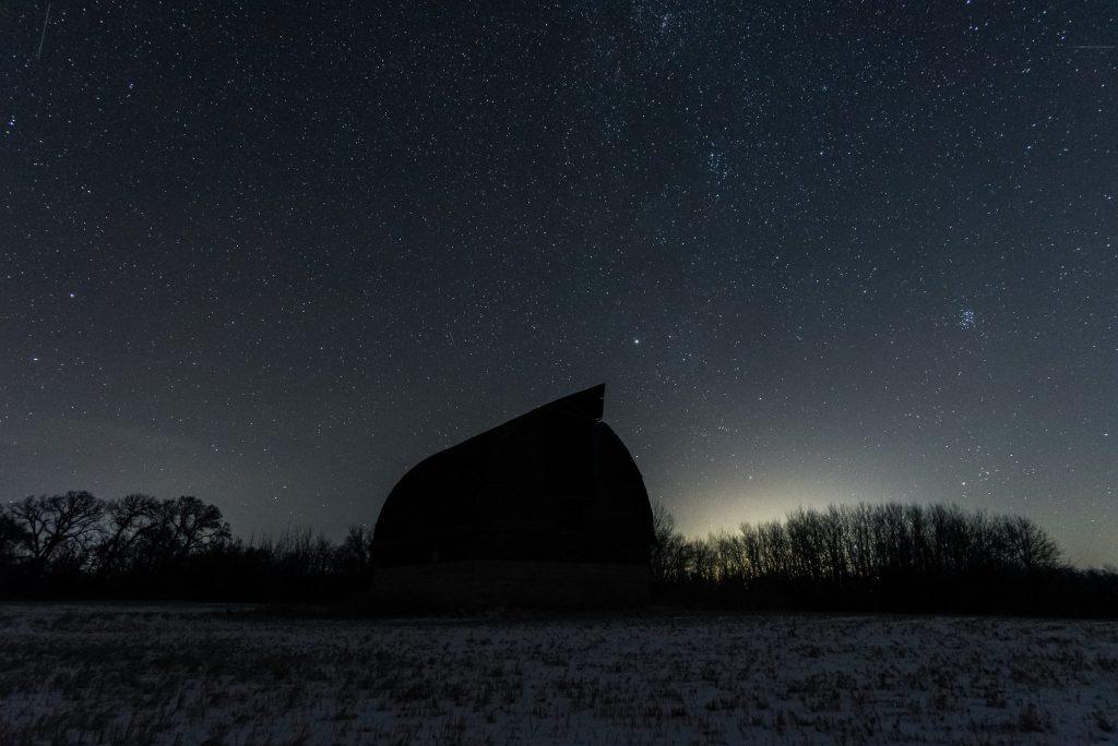 Pembina valley night sky