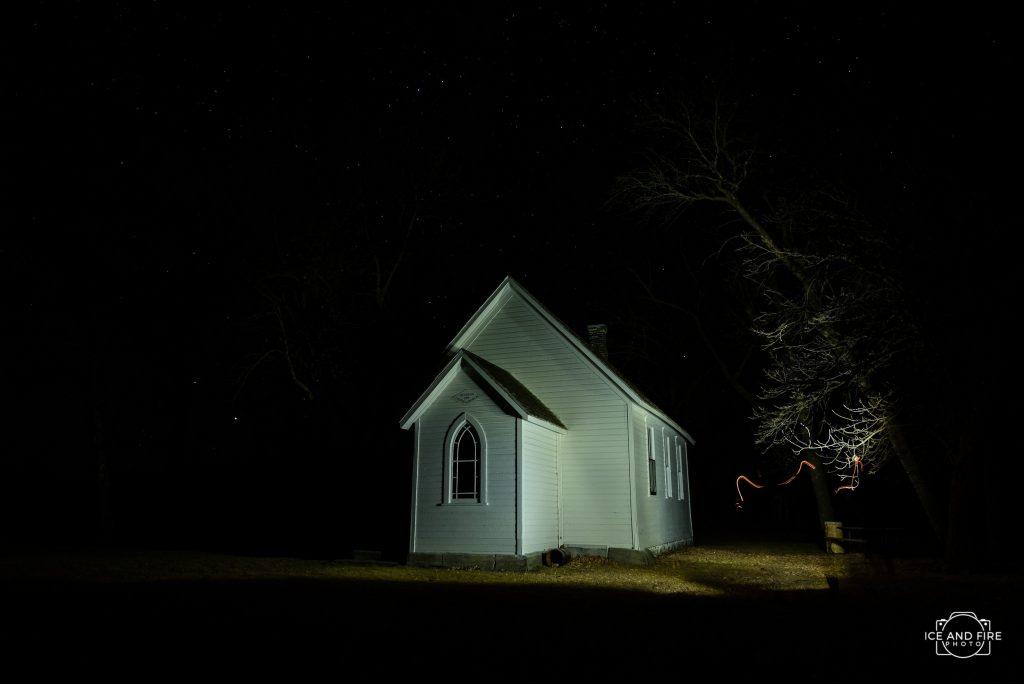 dunston church morden manitoba photograph
