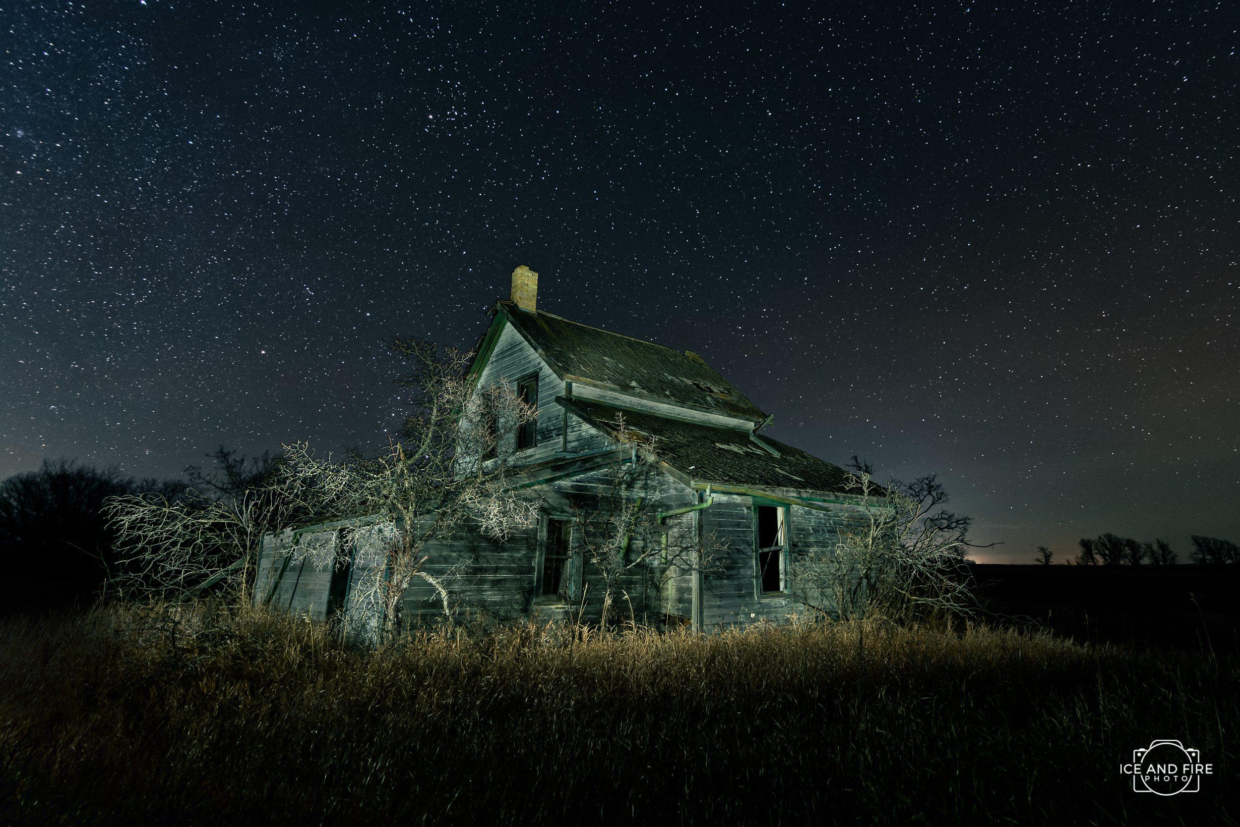 Southern Manitoba photographer nightscape